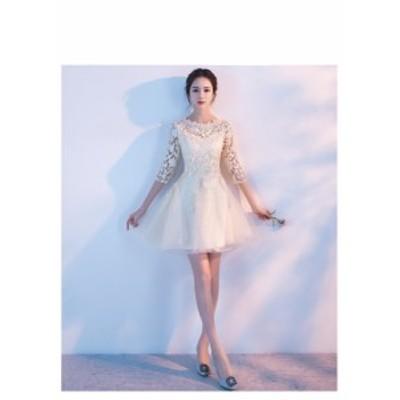 結婚式 ドレス パーティー ロングドレス 二次会ドレス ウェディングドレス お呼ばれドレス 卒業パーティー 成人式 同窓会hs92