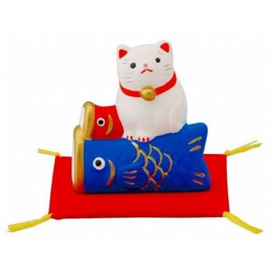 四季の福猫 鯉のぼり