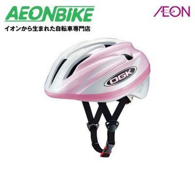 OGKカブト ジュニアヘルメット ジェイクレス2 PWピンク 54-56cm(小学生・低学年〜中学年目安) aeon160104