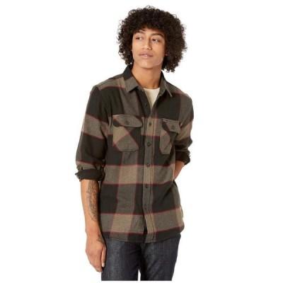 ブリクストン メンズ シャツ トップス Bowery Long Sleeve Flannel