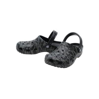 クロックス(crocs) C Printed Camo Clog BK 206454-001 (メンズ、レディース)