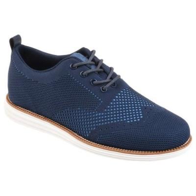 バンス メンズ オックスフォード シューズ Ezra Knit Dress Shoe