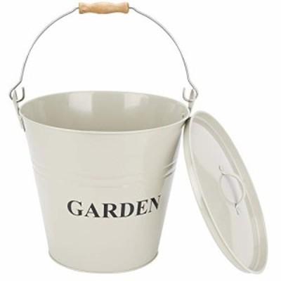 送料無料 INNO STAGE Metal Bucket with Lid  Galvanized Pail  Ice Bucket  Toy Container Storage Bucket Bin with Handle