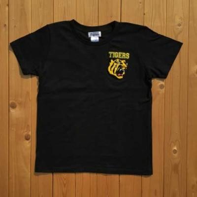 VMC 139012 阪神タイガース承認 虎相楽刺繍Tシャツ(ブラック・レディース・サイズ:M)Tigers37[139012タイガスT]【返品種別A】