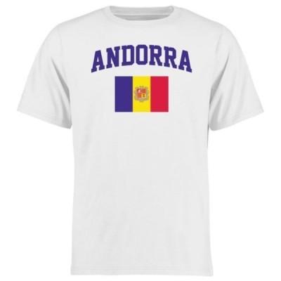 ファナティクス ブランデッド メンズ Tシャツ トップス Andorra Flag T-Shirt