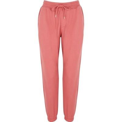 カラフルスタンダード COLORFUL STANDARD レディース スウェット・ジャージ ボトムス・パンツ Dark pink cotton sweatpants Pink