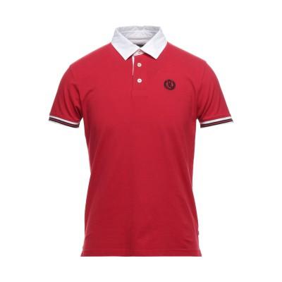 HENRI LLOYD ポロシャツ レッド M コットン 95% / ポリウレタン 5% ポロシャツ
