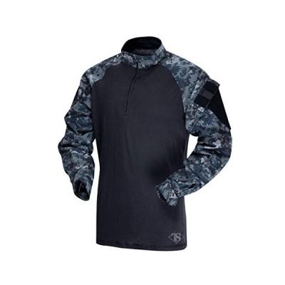 TRU SPEC BY ATLANCO Men's Regular Tru-Spec Combat Shirt, Midnight Digital/B