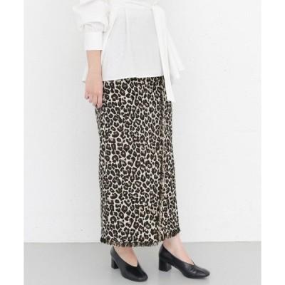 KBF+ レオパードJQタイトスカート