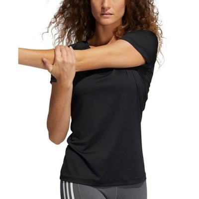 アディダス カットソー トップス レディース Women's Performance T-Shirt Black