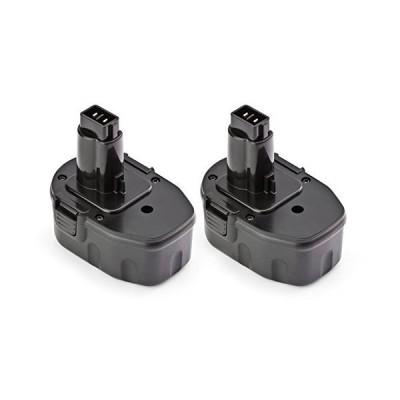 ExpertPower 2 Pack ExpertPower 14.4v 1500mAh NiCd Replacement Battery for Dewalt DC9091 DW9094 DW9091 DE9038 DE9091 DE9092 DE9094 DE9502【