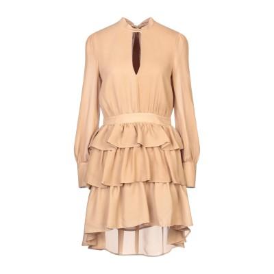 VICOLO ミニワンピース&ドレス サンド S ポリエステル 100% ミニワンピース&ドレス