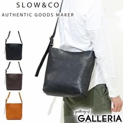 【商品レビューで+5%】スロウ ショルダーバッグ SLOW tool shoulder bag ボノ レザー 本革 メンズ レディース 49S147G
