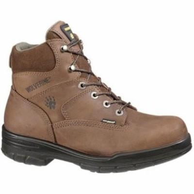 ウルヴァリン レインシューズ・長靴 Durashocks Slip Resistant 6 Steel Boot Dark Brown
