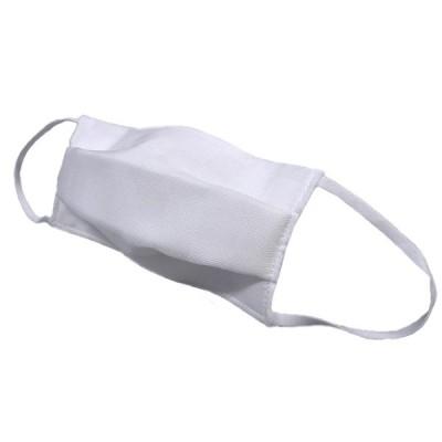 着物美人 送料無料 マスク 夏 1枚 日本製 絹100% 夏マスク 涼やか 冷感 特殊メッシュ織り 洗える 絹マスク シルクマスク 3重構造 【 白 織和柄 】s399551