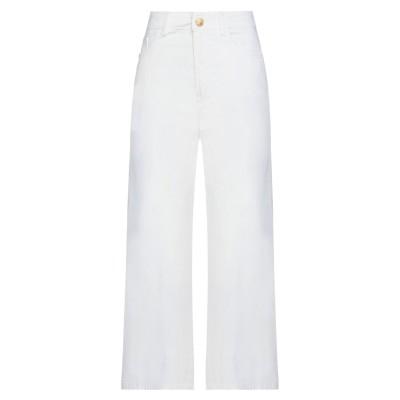 マニラ グレース MANILA GRACE パンツ ホワイト 46 コットン 97% / ポリウレタン 3% パンツ