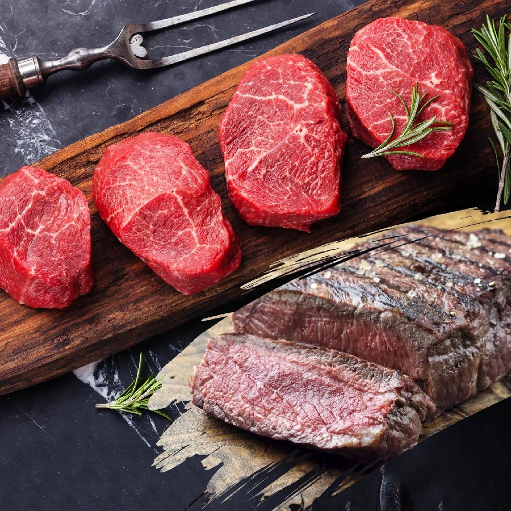 (買一送一)紐西蘭PS級嫩肩沙朗牛排 (220g±10%/包)《喬大海鮮屋》(送同樣的)