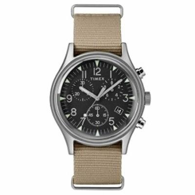 Timex TW2T10700 メンズ クロノグラフ クォーツウォッチ ナイロンストラップ付き