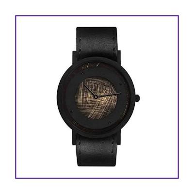 South Lane Stainless Steel Swiss-Quartz Leather Calfskin Strap, Black, 20 Casual Watch (Model: core-SL-59) 並行輸入品