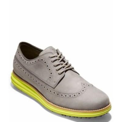 コールハーン メンズ スニーカー シューズ Men's OriginalGrand Waterproof Wingtip Golf Shoes Ironstone/Sulphur
