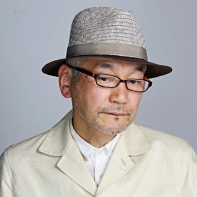 中折れ ハット DAKS 春 夏 リネン ニット ダックス 帽子 メンズ 涼しい 日本製 中折れ帽子 紳士