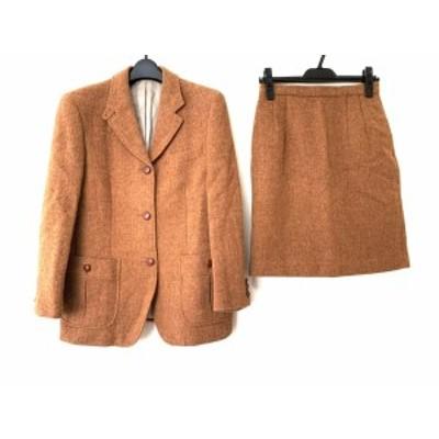 ニューヨーカー NEW YORKER スカートスーツ サイズ9 AR レディース - ブラウン 肩パッド【還元祭対象】【中古】20200825