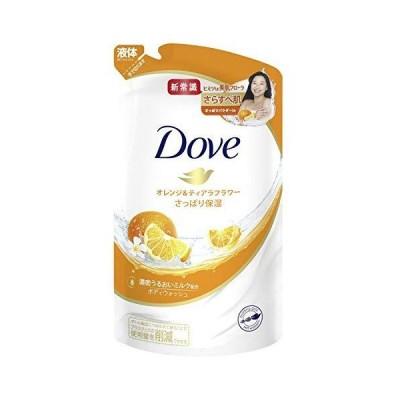 Dove(ダヴ) ボディウォッシュ ボディソープ オレンジ&ティアラフラワー 詰替え用 360g
