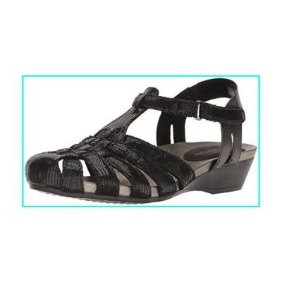 [Aravon] レディースStandon Fisherman Sandal カラー: ブラック