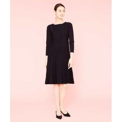 Sybilla/シビラ デザインニットドレス ブラック 40