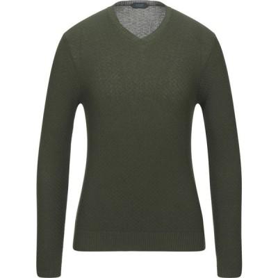 ザノーネ ZANONE メンズ ニット・セーター トップス Sweater Dark green