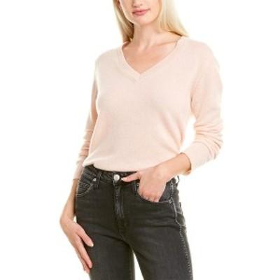 ハンナローズ レディース ニット&セーター アウター Hannah Rose Easy Body Cashmere Sweater light pink