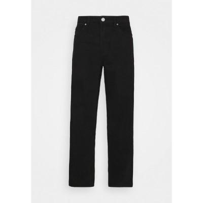 メンナス デニムパンツ メンズ ボトムス PETROL HEAD - Straight leg jeans - black