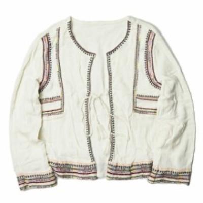 BEAUTY&YOUTH UNITED ARROWS ビューティーアンドユース ユナイテッドアローズ エンブロイダリーショートジャケット 刺繍