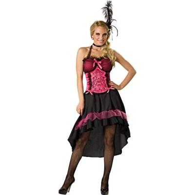 ダンス 衣装 カンカンダンサー サロンギャル 大人用 セクシー ドレス コスチューム ハロウィン