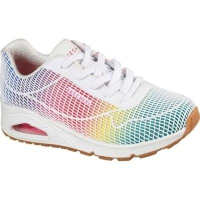 スケッチャーズ スニーカー シューズ レディース Uno Eye Catching Sneaker (Women's) White/Multi