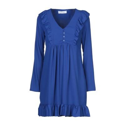 カオス KAOS ミニワンピース&ドレス ブライトブルー 40 ポリエステル 100% ミニワンピース&ドレス