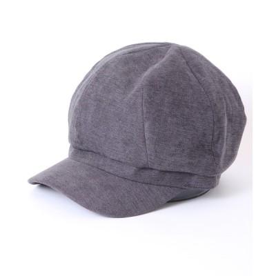 FUNALIVE / 【SENSE OF GRACE】 T.HAL NEO CASQUETTE ポリスェードキャスケット WOMEN 帽子 > キャスケット