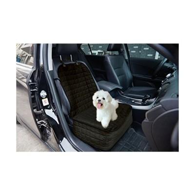 送料無料!Elegant Comfort Quilted Design%100 Waterproof Premium Quality Single Car Seat Protector Cover (Front Single Seat) for Pets -