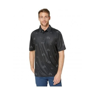 Straight Down メンズ 男性用 ファッション アクティブシャツ Jig Polo - Black