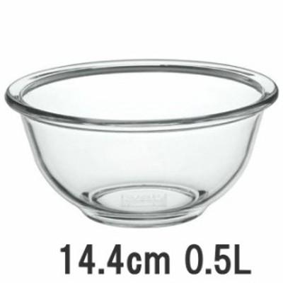 iwaki/イワキ 耐熱ガラス製ベーシックボウル 外径144mm 500ml (ボール) KBC321N 8-0248-0804_ES