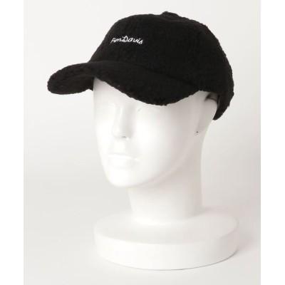 LB/S / 【BEN DAVIS/ベンデイビス】ボアキャップ モコモコ ワンポイントロゴ刺繍 MEN 帽子 > キャップ