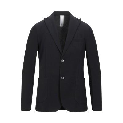 STILOSOPHY INDUSTRY テーラードジャケット ブラック 54 ポリエステル 97% / ポリウレタン 3% テーラードジャケット