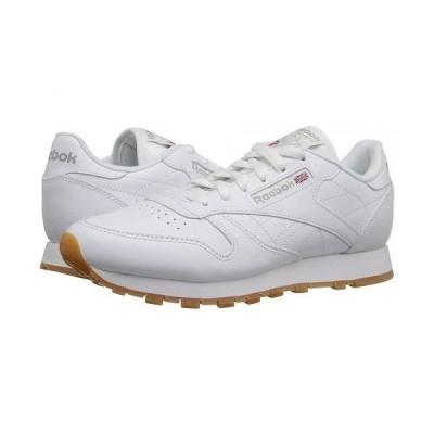 Reebok Lifestyle リーボック レディース 女性用 シューズ 靴 スニーカー 運動靴 Classic Leather - White/Gum