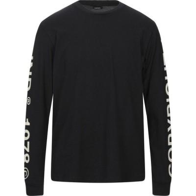 ディーゼル DIESEL メンズ Tシャツ トップス T-Shirt Black