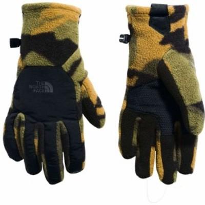 ザ ノースフェイス The North Face メンズ 手袋・グローブ Denali Etip Gloves Brnt Olv Grn Wds Camo Prt