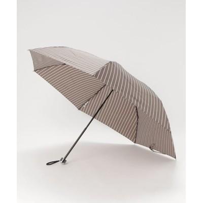 MOONBAT / 紳士折りたたみ傘 【ストライプ】 MEN ファッション雑貨 > 折りたたみ傘