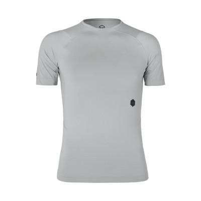 UNDER ARMOUR T シャツ ライトグレー XL ポリエステル 84% / ポリウレタン 16% T シャツ