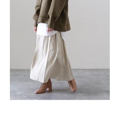 オーロラツイルギャザースカート