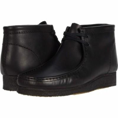 クラークス Clarks メンズ ブーツ シューズ・靴 Wallabee Boot Black Leather