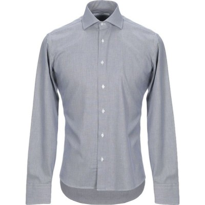 タケシ クロサワ TAKESHY KUROSAWA メンズ シャツ トップス patterned shirt Dark blue